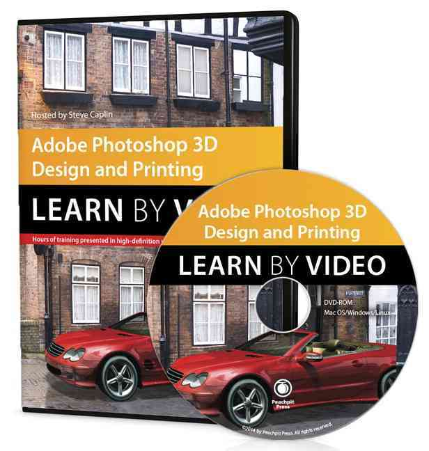 Adobe Photoshop 3d Design and Printing By Caplin, Steve